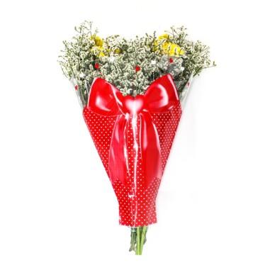 Bolsa Bouquet modelo -LAZO (50 unds.)