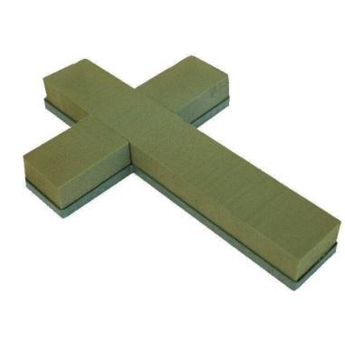 CRUZ PLASTICO CON ESPONJA Ref. S337 40 x 27 x 5cm h