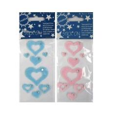 Pegatinas de corazones pelo adhesivos (-50%)
