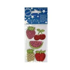 Pegatinas de frutas adhesivas (-50%)