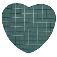 Corazón plástico con esponja - MAGNÉTICO (-30%)
