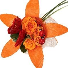 (-30% YA APLICADO) Porta Bouquet - FLOR SISAL
