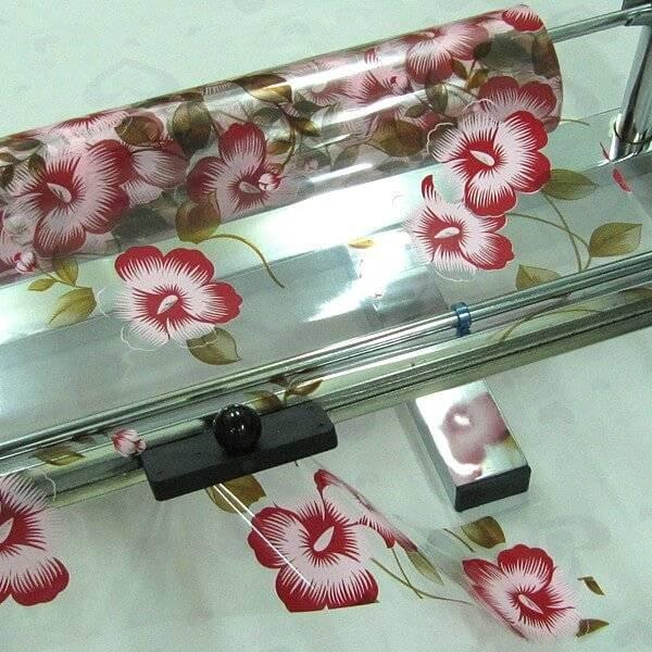 portabobina para papel celofn cromado portabobina para papel celofn cromado