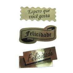 Etiquetas Adhesivas - SURTIDO NEGRO (Portugés)