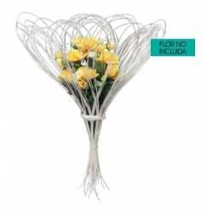 Porta Bouquet Rattan