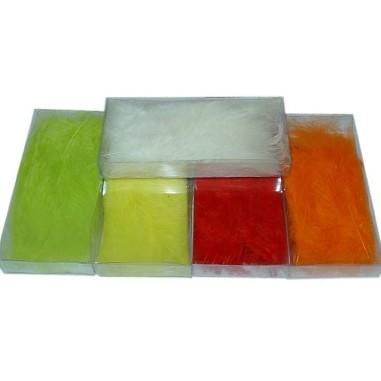 (-50% YA APLICADO) Plumas de colores (10 gr.)