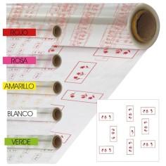 Papel De Celofan Transparente - Modelo FLEUR (-30%)