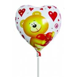 GLOBO I LOVE YOU OSO 13 (25 unidades)
