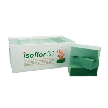 Caja de esponjas para flor seca - ISOFLOR (20 unds.)