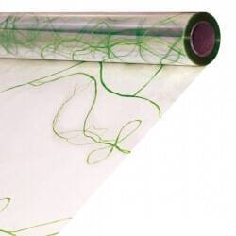 Papel de celofan transparente - Modelo LAZO