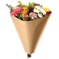Bolsa de bouquet - KRAFT (50 unds.)