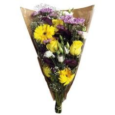 Bolsa de bouquet - KRAFT TRANSPARENTE (50 unds.)