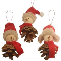 Piña Colgante Navidad