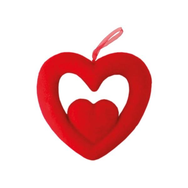 Corazon Doble 2 Medidas 30 Decoracion San Valentin - Decoracion-san-valentin