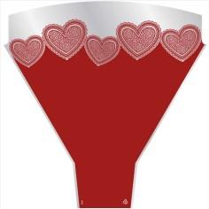 Bolsa de bouquet - LOVE HEARTS (50 unds.) (-30%)