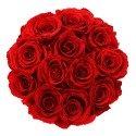 Caja de Rosas Reservadas Rendonda