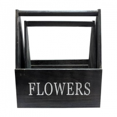 CAJA FLOWERS NEGRA WK16A236 (2 UNDS.)
