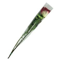 Bolsa de bouquet 1 tallo - TRANSPARENTE (50 UNDS.)