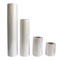 Bobina de tubo de celofán doble - BLANCO