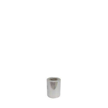 Bobina de tubo de celofán doble - Modelo TRANSPARENTE