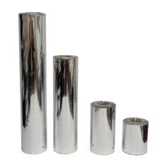 Bobina de tubo de celofán doble - PLATA