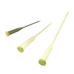 Tubos para flores con punta (3 medidas)