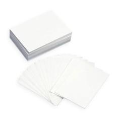 Tarjeta simple - Blancas
