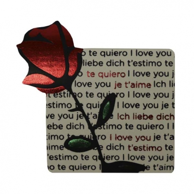 Etiquetas Rosa Texto