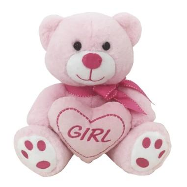 Peluche Oso Celeste Boy / Rosa Girl